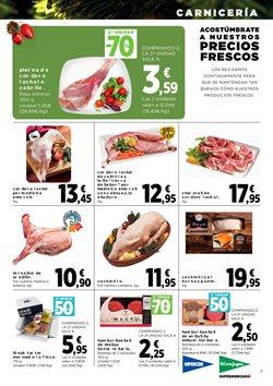 Ofertas de Picado, salsicha y hamburguesa  en el folleto de Hipercor en Madrid