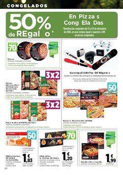 Ofertas de Pizza  en el folleto de Hipercor en El Ejido