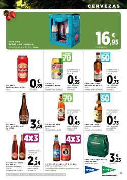 Ofertas de Cerveza  en el folleto de Hipercor en El Puerto De Santa María