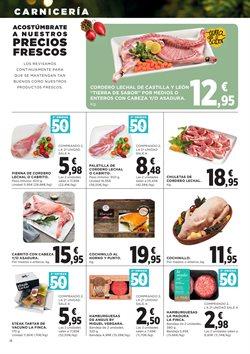 Ofertas de Hamburguesas  en el folleto de Hipercor en Fuenlabrada