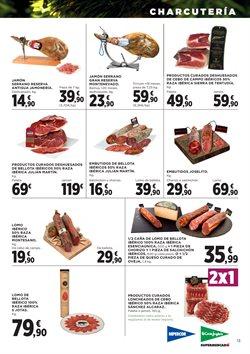 Ofertas de Embutidos  en el folleto de Hipercor en Oviedo