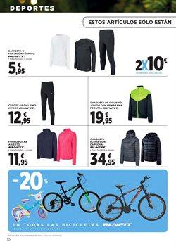 Ofertas de Bicicletas  en el folleto de Hipercor en Alcalá de Henares
