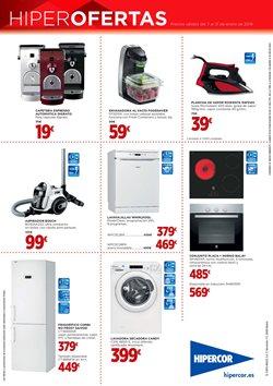 Ofertas de Electrodomésticos  en el folleto de Hipercor en Chiclana de la Frontera
