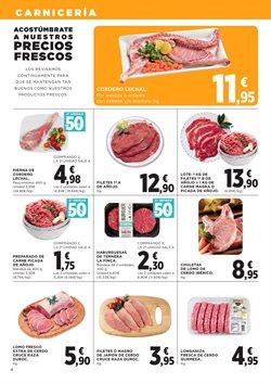 Ofertas de Hamburguesas  en el folleto de Hipercor en El Ejido