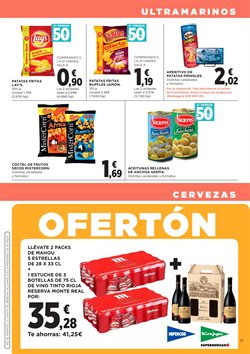 Ofertas de Aperitivos y frutos secos  en el folleto de Hipercor en Madrid