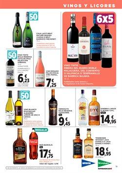 Ofertas de Vino  en el folleto de Hipercor en Madrid