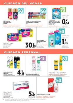 Ofertas de Dodot  en el folleto de Hipercor en Málaga