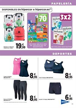 Ofertas de Top de deporte  en el folleto de Hipercor en Madrid