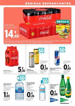 Ofertas de Agua  en el folleto de Hipercor en Pamplona