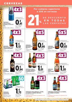 Ofertas de Cerveza  en el folleto de Hipercor en Murcia