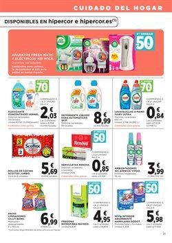 Ofertas de Detergente  en el folleto de Hipercor en Las Palmas de Gran Canaria