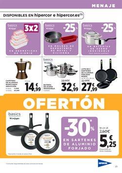 Ofertas de Menaje de cocina  en el folleto de Hipercor en Córdoba