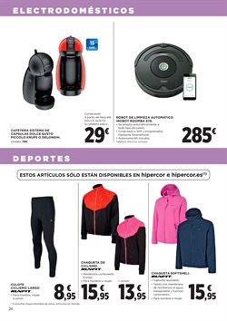 Ofertas de Ropa de deporte  en el folleto de Hipercor en Madrid