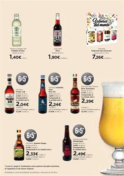 Ofertas de Cerveza  en el folleto de Hipercor en San Fernando