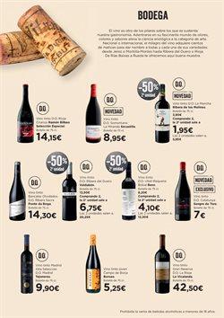 Ofertas de Vino tinto  en el folleto de Hipercor en Málaga