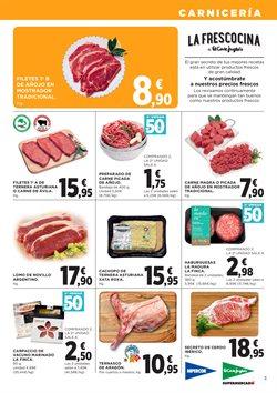 Ofertas de Carne de vacuno  en el folleto de Hipercor en Oviedo