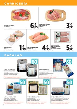 Ofertas de Pechuga de pollo  en el folleto de Hipercor en Murcia
