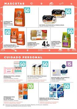 Ofertas de Gillette  en el folleto de Hipercor en Telde