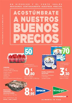 Ofertas de Hipercor  en el folleto de Murcia