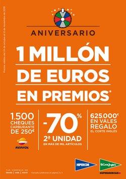 Ofertas de Hipercor  en el folleto de Santiago de Compostela