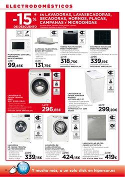 Ofertas de Panasonic en el catálogo de Hipercor ( 2 días más)