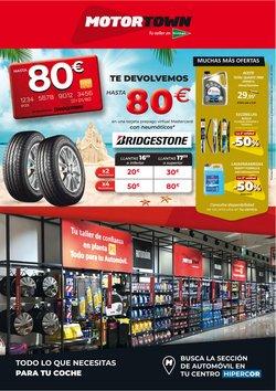 Ofertas de Bridgestone en el catálogo de Hipercor ( Caduca mañana)