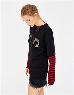 Ofertas de Camiseta manga larga  en el folleto de Pull & Bear en Madrid