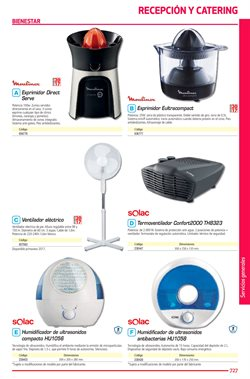 Ofertas de Ventiladores  en el folleto de Calipage en Madrid