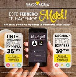 Ofertas de Perfumerías y belleza  en el folleto de Marco Aldany en Sevilla