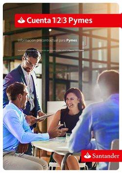 Ofertas de Banco Santander  en el folleto de Madrid