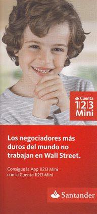 Ofertas de Banco Santander  en el folleto de Fuenlabrada