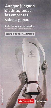 Ofertas de Financiación  en el folleto de Banco Santander en San Bartolomé de Tirajana