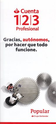 Ofertas de Bancos y seguros  en el folleto de Banco Santander en Rivas-Vaciamadrid