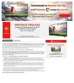 Ofertas de Bancos y seguros  en el folleto de Banco Santander en San Juan de Aznalfarache