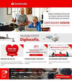 Ofertas de Bancos y Seguros  en el folleto de Banco Santander en Osuna