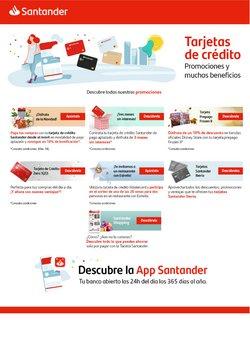Ofertas de Bancos y Seguros  en el folleto de Banco Santander en Muro de Alcoy