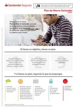 Ofertas de Bancos y Seguros en el catálogo de Banco Santander en Tàrrega ( Más de un mes )