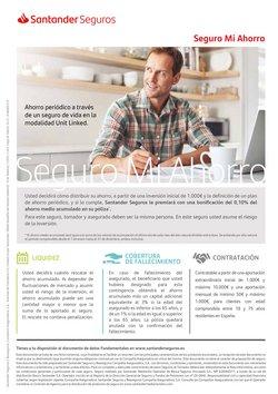 Ofertas de Bancos y Seguros en el catálogo de Banco Santander en Fuengirola ( Más de un mes )