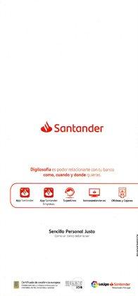 Ofertas de Codos en Banco Santander