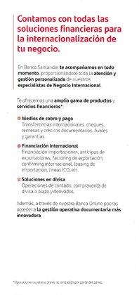 Ofertas de Pago en Banco Santander
