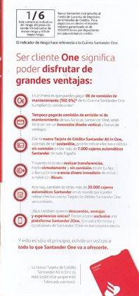 Ofertas de All in One en Banco Santander