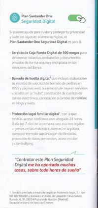Ofertas de Perfilería en Banco Santander