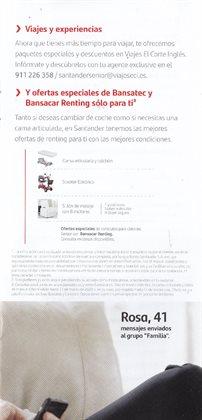 Ofertas de AO en Banco Santander