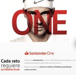 Catálogo Banco Santander ( Más de un mes)