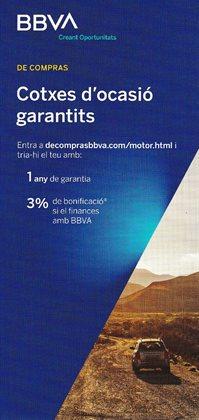 Ofertas de Bancos y Seguros en el catálogo de BBVA en Arenys de Mar ( Más de un mes )