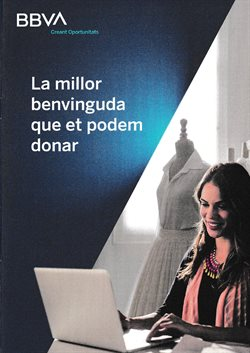 Ofertas de Bancos y Seguros en el catálogo de BBVA en Tàrrega ( 22 días más )