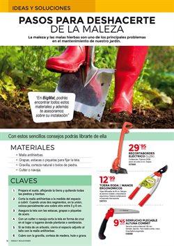 Ofertas de Herramientas de carpintero  en el folleto de BigMat en Palamos