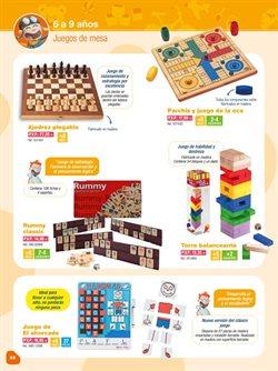 Ofertas de Ajedrez  en el folleto de Dideco en Madrid
