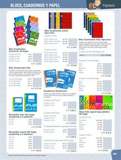 Ofertas de Bloc de notas  en el folleto de Dideco en Madrid