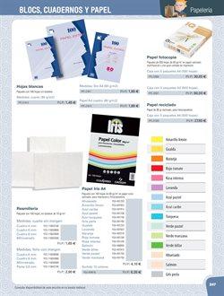 Ofertas de Paquete de papel  en el folleto de Dideco en Madrid